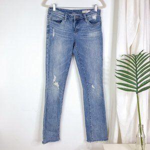 BLANK NYC Deff Cuff Straight Leg Jeans Size 26